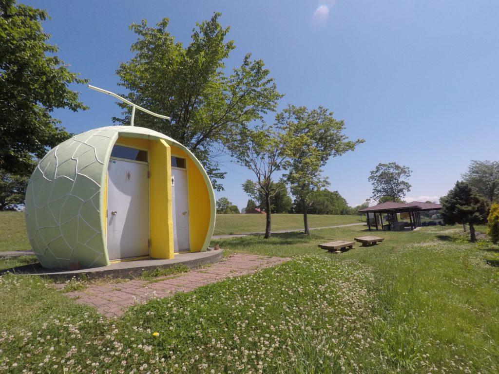 月形 皆楽公園キャンプ場