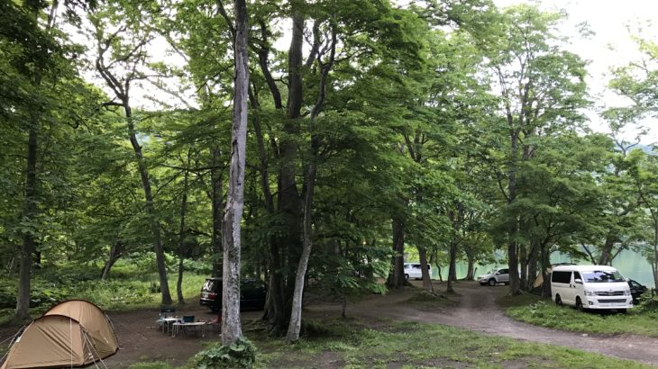 洞爺湖キャンプなら、仲洞爺キャンプ場に泊まるべし!湖畔が近くリーズナブル!
