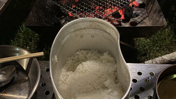 飯盒でご飯を炊いてみたら、やっぱり簡単だったよ!