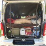 ハイエースで夏の快適な車中泊のために、網戸を買ってみたぞ!