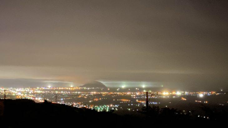 きじひき高原は裏夜景を楽しめる稀有のキャンプ場だった!