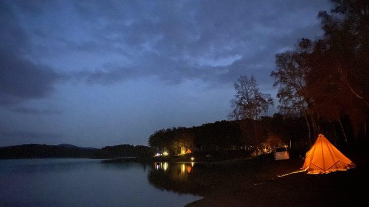 朱鞠内湖畔キャンプ場は、道内屈指の湖畔キャンプ場だったのでみんなにはあんまり行って欲しくない!