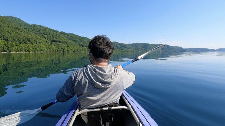 洞爺湖でのカヌーがとても楽しかったので、初心者向けにカヌーについて調べてみた!